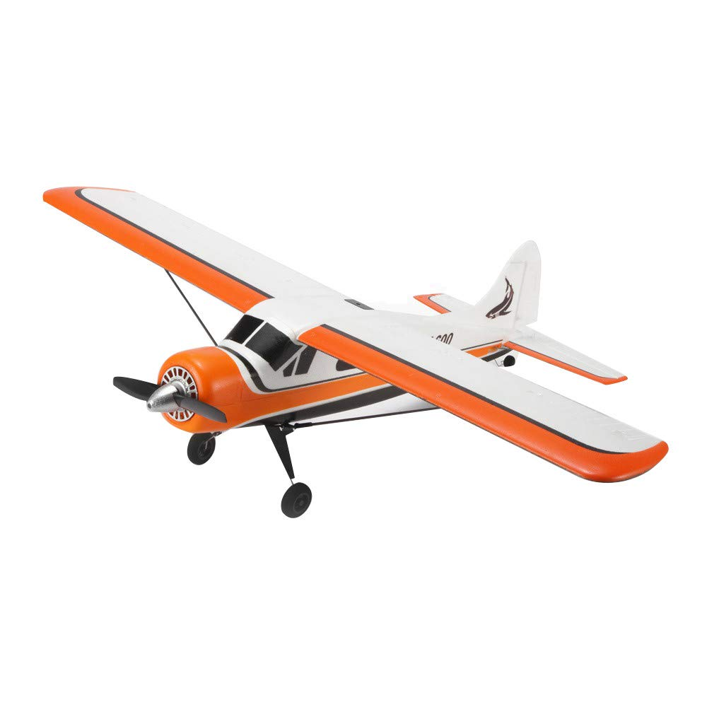 Choosebuy 3D6G Remote Control Airplane, A600 2.4G Cool RC Radio Aircraft Drone Airplane Toys for Indoors/Outdoors Flight Toys, Built in 3-axis 6-axis Gyroscope Mode Conversion Super Easy to Fly (A)