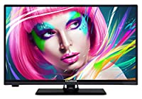 Techwood H20T10A 51 cm (20 Zoll) Fernseher (HD-Ready, Dual-Tuner) schwarz