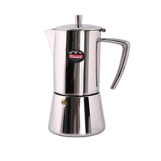 Cafetera Mocha Pot 304# Cafetera de acero inoxidable ...