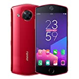 "Original New Meitu M8 5.2"" Selfie Beauty SmartPhone 4GB 64GB 21MP Front Camera Canada Stock Factory unlocked No warranty (Red)"
