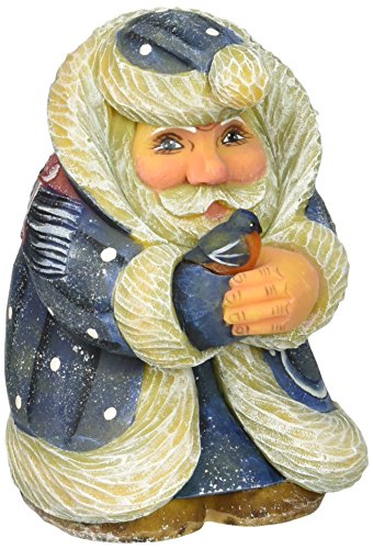 """G. Debrekht Twitter Tweet Mini Santa, 4"""""""