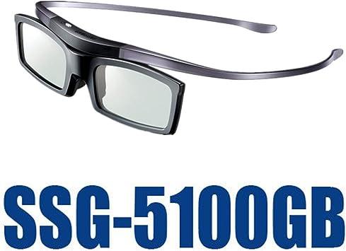 Visualización 3D Gafas, SSG-5100GB Original 3D Bluetooth Activo Gafas Gafas para Todos Samsung/TV Sony Serie SSG5100 Gafas 3D: Amazon.es: Deportes y aire libre