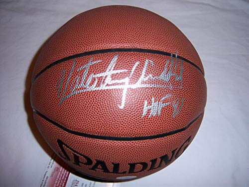 Nate Archibald Celtics JSA Autographed Signed Basketball - Certified Authentic