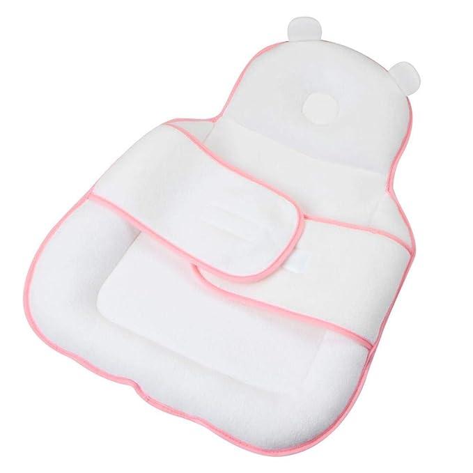 Baby Kissen Schlafhilfe Pad Atmungsaktive Bettw/äsche Kuscheln F/ür Neugeborene 0-12 Monate Schlaf Und Reisen