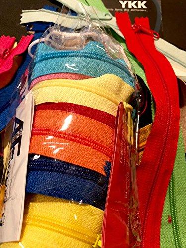 Zipperstop - Fashion Trends YKK #4.5 Handbag Long Pull Zippers Sewer Crafter