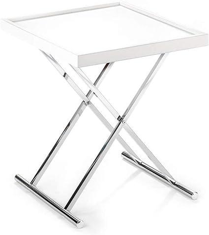 Tavolo Pieghevole Con Vassoio.Wink Design Baldi Tavolino Richiudibile Con Vassoio Estraibile Bianco 70 X 57 X 7 Cm Amazon It Casa E Cucina