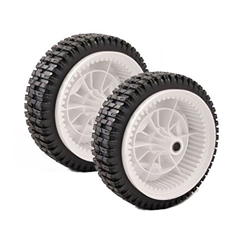 Set of 2 Husqvarna OEM Lawn Mower Front Wheel Tire 532403111 194231×427
