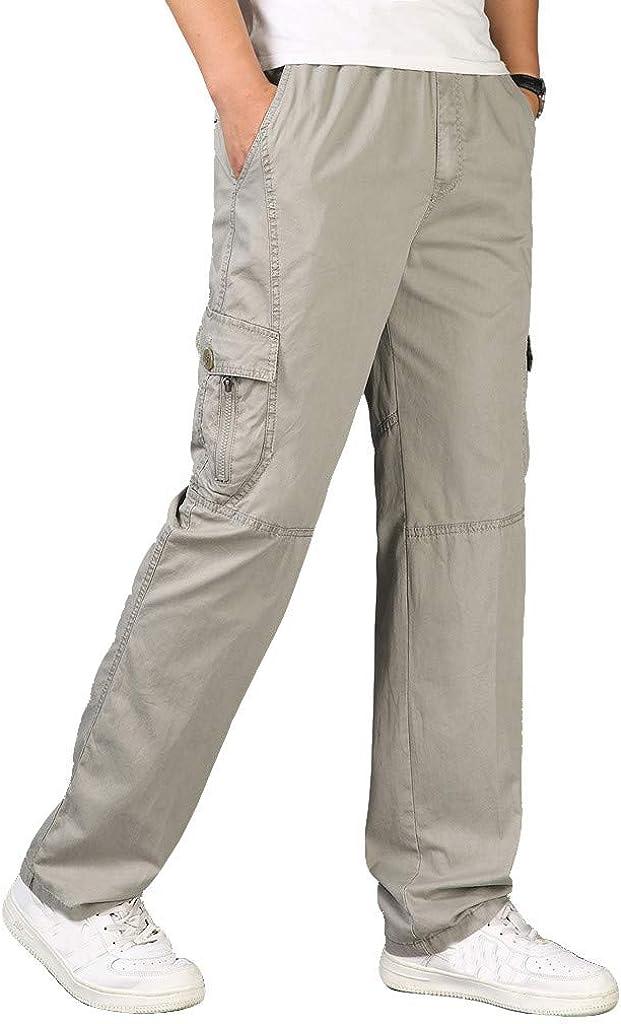 Pantalones para Hombre, Tallas Grandes Suelto Pantalones Casuales ...