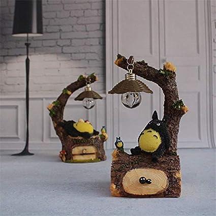 Ochoos Totoro Lámpara LED de Noche ABS para Mesa de Lectura ...