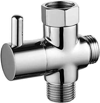 CIENCIA G1 2  Bathroom Angle Valve For Solid Brass 3-Way Shower Arm Diverter Val