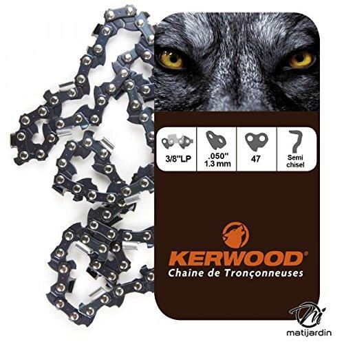 Chaine pour ECHO CS3000 3//8LP 1,3 mm 47 maillons Pi/èce neuve Kerwood