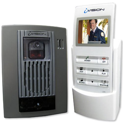front door intercomAmazoncom  Optex iVision Wireless 2Way Video Door Intercom
