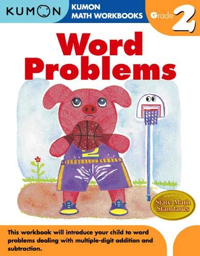 Word Problems Grade 2 (Kumon Math Workbooks)