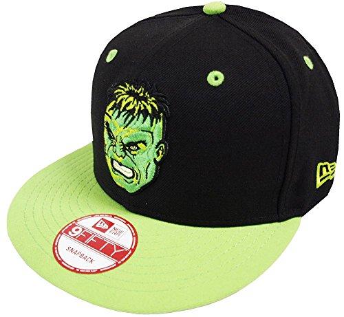 New Era The Incredible Hulk Marvel Snapback Cap Kappe 9fifty Limited Edition (Snapback Hulk)