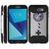 TurtleArmor | Compatible for Samsung Galaxy J7 2017 Case | J7 Prime | J7 Sky Pro | Dual Layer Rugged Impact Slim Hybrid Armor Case Hard Shell Cover – Classic Game Controller For Sale