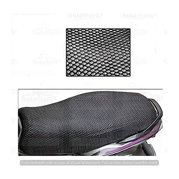AutoStark Bike Sweat Free Stretchable Net Seat Cover for Honda CB for Hornet 160