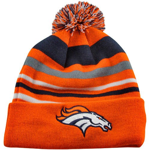 New Era Headwear Nfl Football Denver Broncos Beanie One Size Fits Most Men