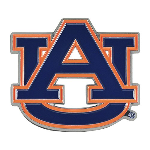 Fan Mats Auburn University Color Chrome Car Emblem from Fan Mats