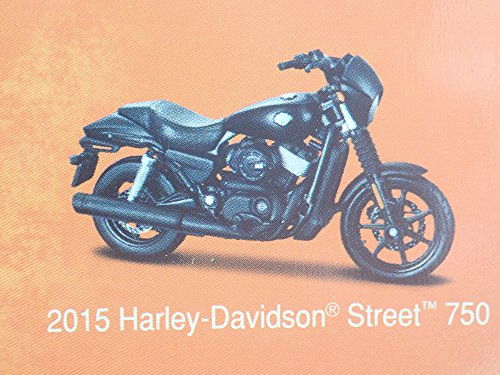 2015 STREET 750 HARLEY DAVIDSON MOTORCYCLE MAISTO SERIES 35 RARE 1/18 MODEL BIKE