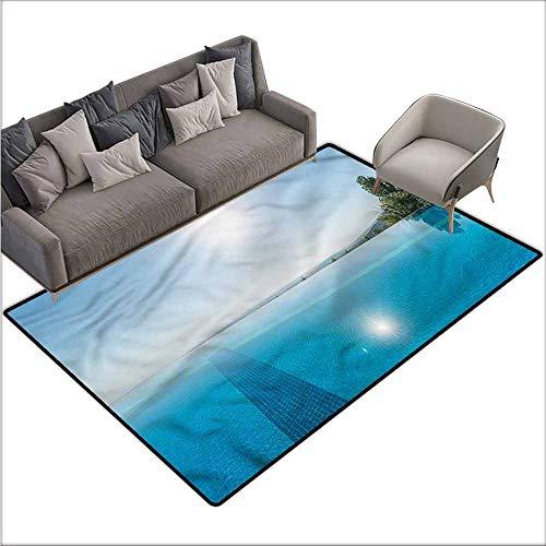 Anti-Fatigue Comfort Mat Pool,Infinite Pool Summer Theme 48