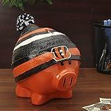 Cincinnati Bengals Piggy Bank - Large With Hat