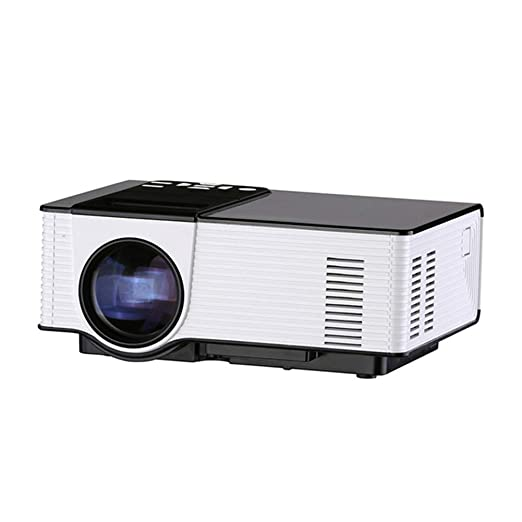 WWK Proyector LED para el hogar, Proyector HD 1080P Audio ...