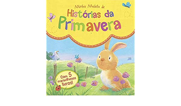Minha Maleta de Historias da Primavera: Ciranda Cultural: 9788538052623: Amazon.com: Books