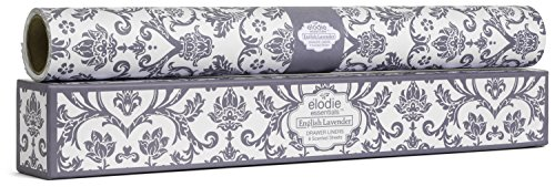 Elodie Essentials Scented Drawer Liners Royal Damask (English Lavender) ()