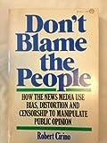 Don't Blame the People, Robert Cirino, 0394717880