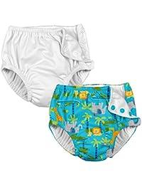 Baby & Toddler Reusable Absorbent Swim Diaper (Pack of 2)