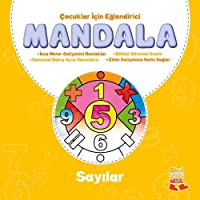Çocuklar İçin Eğlendirici Mandala 3 Sayılar