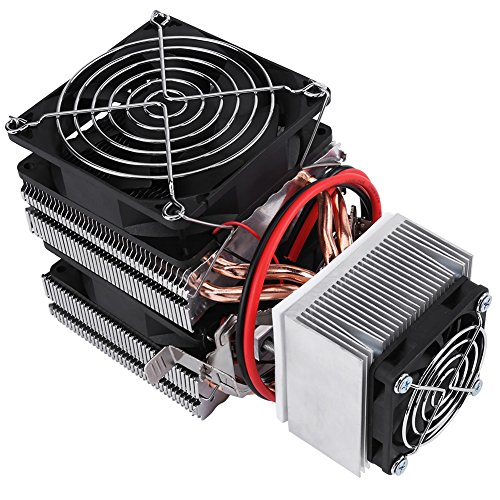 DIY Electric Semiconductor Cooler Module Thermoelectric Peltier Refrigerator Radiator Cooler Fan Cooling System 12V