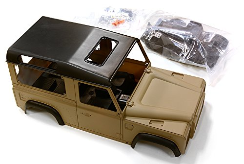 10 Painted Body (Integy RC Model Hop-ups C26817 1/10 Scale LR Type D90 Hard Plastic Body Kit (Partially Painted))