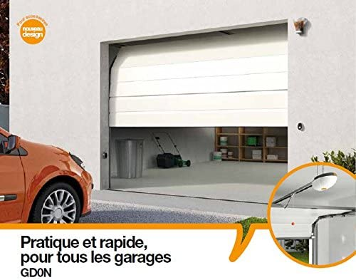 Mhouse - Kit portes de garage à chaîne. Livré avec 2 GTX4: Amazon.es: Electrónica