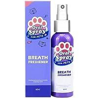Alexsix Dog Teeth Freshener, Pet Spray Dog Oral