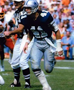 Charlie Waters Dallas Cowboys 8x10 Sports Action Photo (k)