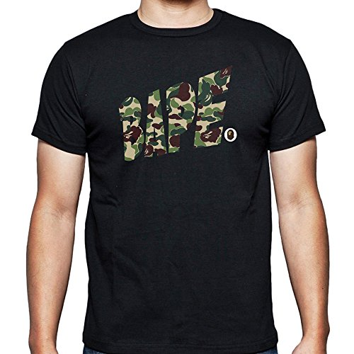 6af6d557 bape a bathing ape army vr for Small Black men T shirt - Import It All