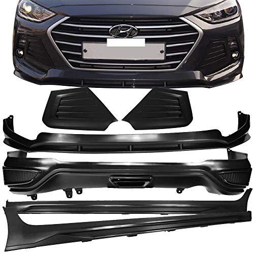 Fits 17-18 Hyundai Elantra SPW Style Full Lip Kit Exterior PackageBy IKON MOTORSPORTS