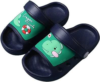 Sandalias Bebé Zapatillas Playa de Verano Niños Zapatos Unicornio Niñas Zapatos Dinosaurio Niño Pantuflas de Baño Antideslizantes para Infantils
