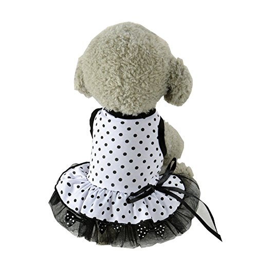 [S-Lifeeling Sweet Spot Dress Spring Summer Teddy Dog Clothes Pet Costumes] (Bull Rider Costume Toddler)