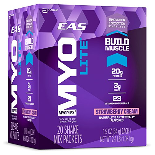EAS Myoplex Protein Strawberry servings