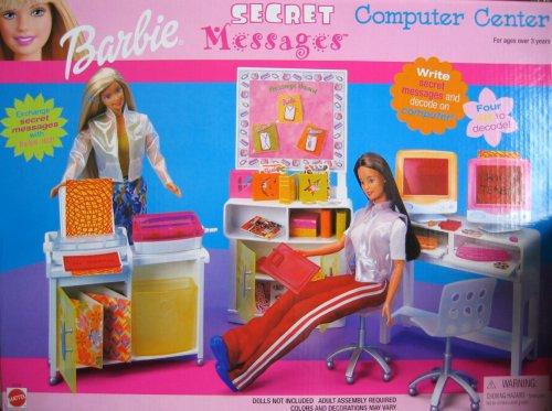 Barbie Secret Messages Computer Center Playset (2000) (Fax Tray)