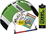 HQ Fluxx 1.8M Trainer Kite TR plus Kitesurfing DVD Bundle (4 items) Includes Progresion Beginner Kiteboarding Instructional DVD + WindBone Kite Lifestyle Decals + WindBone Key Chain : Foil Traction