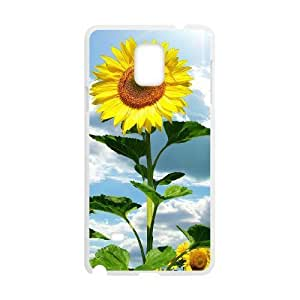 Hu Xiao GTROCG Sunflower Pattern cell phone case cover For 293kuTD7mMS samsung galaxy note 4