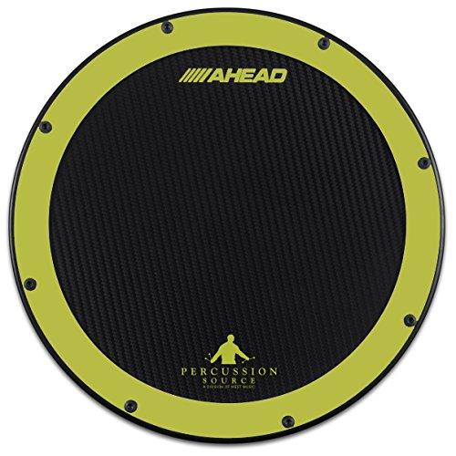 "Ahead AHSHPG 14"" Green/Black Percussion Source Practice Pad"