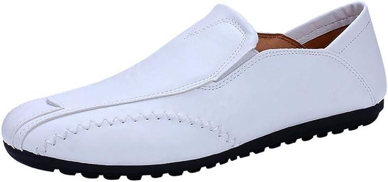 WWricotta Zapatos de Cuero de Uniforme Zapatillas Casual Hombres ...