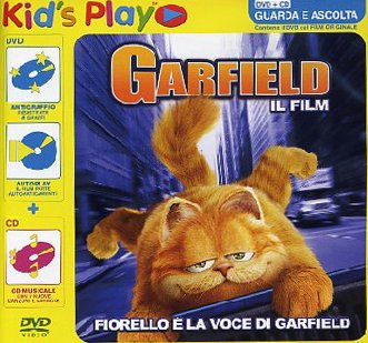Amazon Com Garfield Il Film Dvd Cd Dvd Italian Import Alan Cumming Meyer Breckin Peter Hewitt Movies Tv