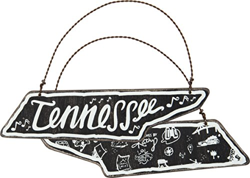 Tennessee State Tree (Primitives By Kathy 28018 Tennessee Hanging Sign Ornament, 6 x 1.75-Inch)
