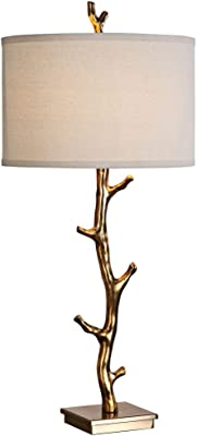 Uttermost 34 Inch Tall Stag Horn Table Lamp With Dark
