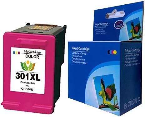 Arink Remanufacturado HP 301XL 301 Cartuchos de tinta 1Tricolor Compatible con HP Deskjet 2544 1010 2540 3050 1510 2510 2050 1050 3055A 1000 3050A ...